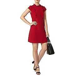 Dorothy Perkins - Raspberry frill fit and flare dress