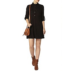 Dorothy Perkins - Black jersey swing dress