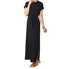 Dorothy Perkins - Navy maxi shirt dress