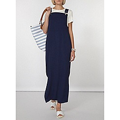 Dorothy Perkins - Navy buckle detail maxi dress