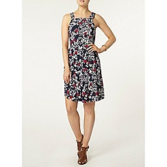 Dorothy Perkins - Floral pinny fit and flare
