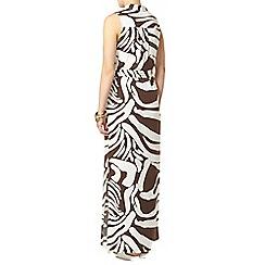 Dorothy Perkins - Zebra printed shirt maxi