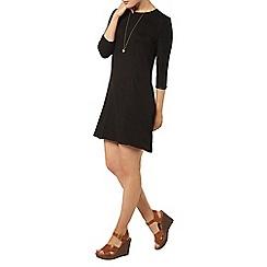 Dorothy Perkins - Black trim swing dress