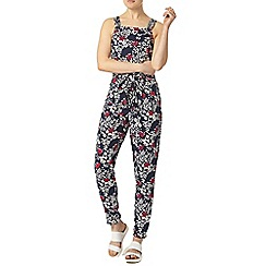 Dorothy Perkins - Floral pinny style jumpsuit