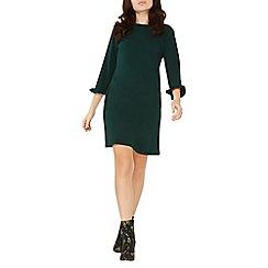 Dorothy Perkins - Green frill cuff shift dress
