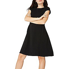 Dorothy Perkins - Black seam fit and flare dress