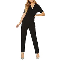 Dorothy Perkins - D-ring belt wrap jumpsuit