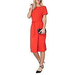 Dorothy Perkins - Red pencil wrap dress