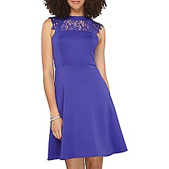 Dorothy Perkins - Tall ultra violet lace dress