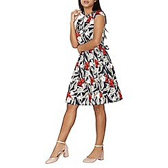 Dorothy Perkins - Floral fit and flare dress