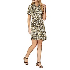 Dorothy Perkins - Animal printed shirt dress