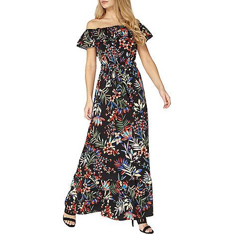 Dorothy Perkins - Tropical bardot maxi dress
