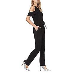 Dorothy Perkins - Black ruffle jumpsuit