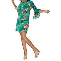Dorothy Perkins - Tropical print shift dress