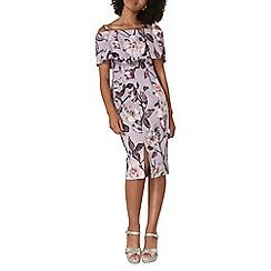Dorothy Perkins - Premium bardot pencil dress
