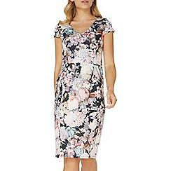 Dorothy Perkins - Premium lilac floral print pencil dress