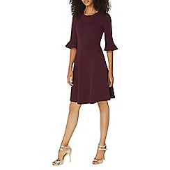 Dorothy Perkins - Flute sleeves fit and flare dress