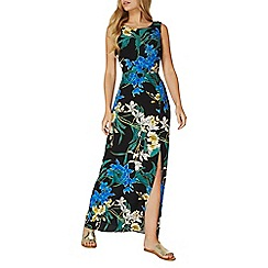 Dorothy Perkins - Black floral maxi dress