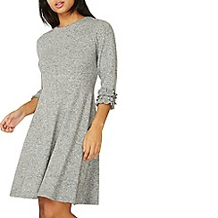 Dorothy Perkins - Light grey fit and flare dress