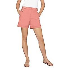 Dorothy Perkins - Tall pink poplin shorts