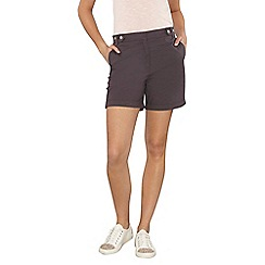 Dorothy Perkins - Tall charcoal poplin shorts