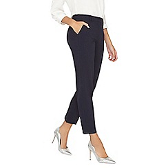Dorothy Perkins - **tall navy ankle grazer trousers