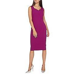 Dorothy Perkins - **tall blackcurrant fold pencil dress
