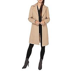 Dorothy Perkins - **tall camel single breasted coat