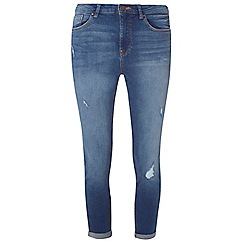 Dorothy Perkins - Tall indigo jessie cropped jeans