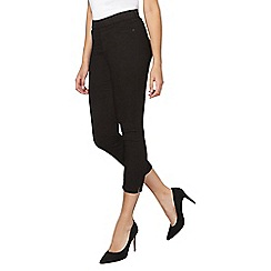 Dorothy Perkins - Tall black eden crop jeggings