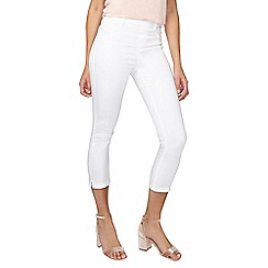 Dorothy Perkins - Tall white eden crop jeggings
