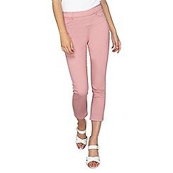 Dorothy Perkins - Tall pink eden crop jeggings