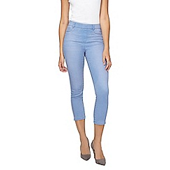 Dorothy Perkins - Tall bleach eden crop jeggings
