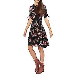 Dorothy Perkins - **tall floral print eyelet skater dress