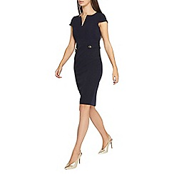 Dorothy Perkins - **tall navy button pencil dress