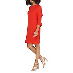 Dorothy Perkins - **tall red ruffle shift dress