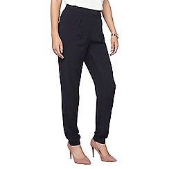 Dorothy Perkins - Tall navy button joggers