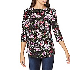 Dorothy Perkins - **tall floral print puff sleeve top
