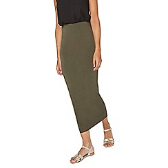 Dorothy Perkins - **tall khaki tube skirt
