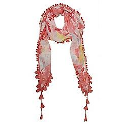 Dorothy Perkins - Pink oceal floral tassel