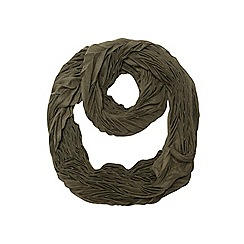 Dorothy Perkins - Green pleated snood