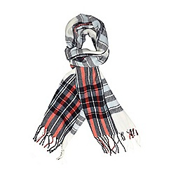 Dorothy Perkins - Red navy check blanket scarf