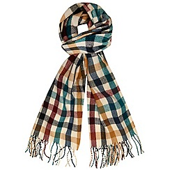 Dorothy Perkins - Multi checker board blanket scarf