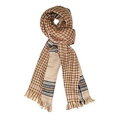 Dorothy Perkins - Neutral double sided blanket scarf