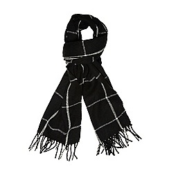 Dorothy Perkins - Black window pain scarf