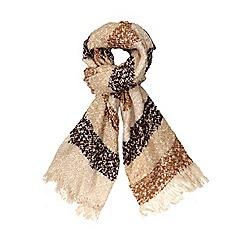 Dorothy Perkins - Multi boucle stripe blanket