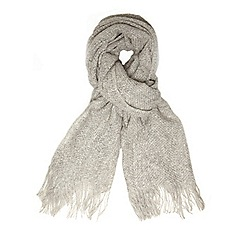 Dorothy Perkins - Grey twist yarn scarf