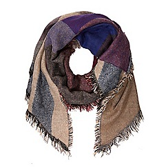 Dorothy Perkins - Multi new asymmetric blanket scarf