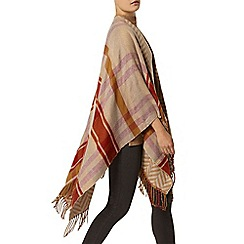 Dorothy Perkins - Camel double sided cape