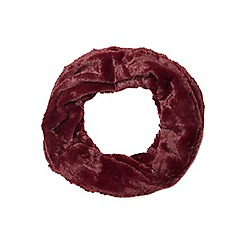 Dorothy Perkins - Wine crushed fur snood